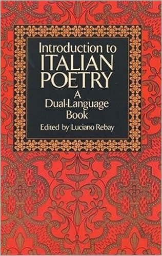 The FSG Book of TwentiethCentury Italian Poetry An Anthology