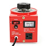 TDGC-0.5KVA 500W 110V Variable AC Transformer Auto Regulator 0-130V 500VA US Plug