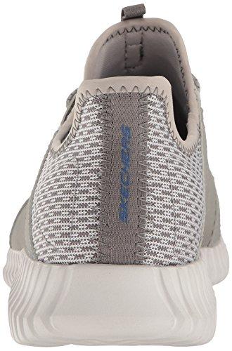 Blue Sneaker Elite Skechers Uomo Grey Flex Infilare wx7YqOpvB