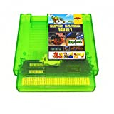 143 in 1 NES Super Games Multi Cart 72 Pin - TRANSPARENT GREEN - LIMITED EDITION