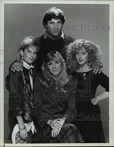 Historic Images - 1986 Vintage Press Photo Terence Knox, Carol Kane & Shawnee Smith on All is Forgiven.