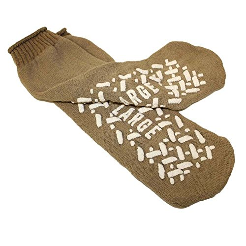 Medline Single Tread Safety Socks X Large