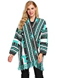 Product review for OD'lover Women's Christmas Knitted Cape Open Front Cardigan Sweater