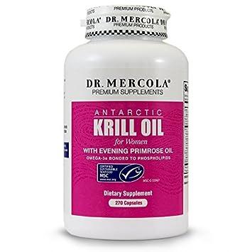 Amazon.com: Dr. Mercola aceite de krill para mujer – con ...