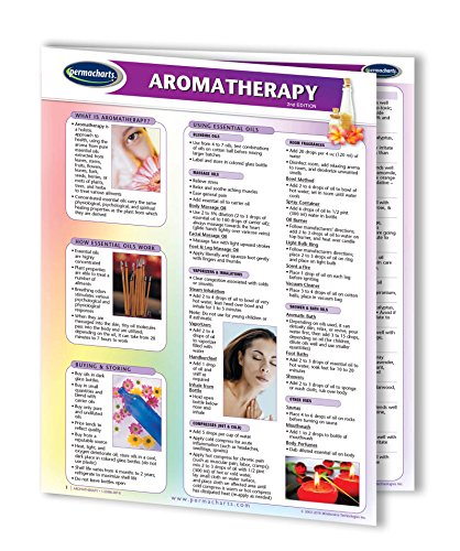Aromatherapy Guide - Essential Oils Holistic Quick Reference Guide by Permacharts
