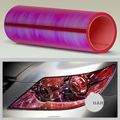 ultra-gloss-neo-chrome-film-sticker-headlight-tail-light-and-fog-light-tint-chameleon-red-12x12