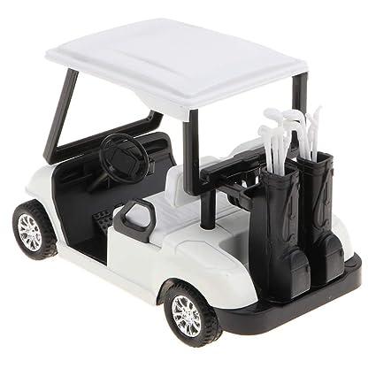 non-brand 1:20 Mini Carro de Golf de Extracción Aleación con ...