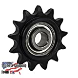 50BB13H-5/8'' Bore 13 Tooth Idler Sprocket for 50 Roller Chain
