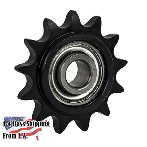 50BB13H-5/8'' Bore 13 Tooth Idler Sprocket for 50 Roller Chain by Jeremywell
