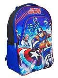Marvel ''The First Avenger'' Captain America Color Change Lights 16-inch Backpack