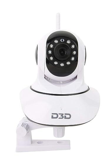 D3D Wireless HD IP WiFi CCTV [Watch Online Demo Right Now] Indoor Security on