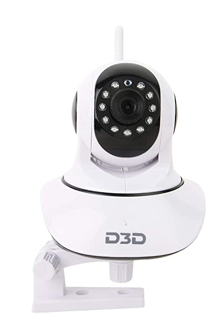 3508af934 Buy D3D D8810 HD WiFi CCTV Indoor (White) Online at Low Price in India