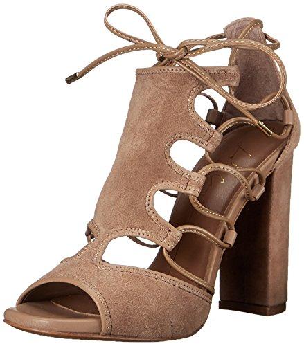 Lola Cruz Womens High Heel Ankle Strap Sandal Marron Claro/Nude x6raZ2fQ