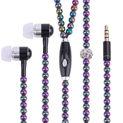 Rhinestone Earphones Headphones Smartphone multicolor product image