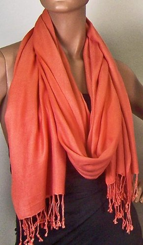 Super Soft Faux Pashmina (CORAL)