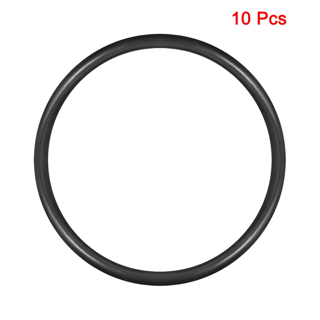 23mm Inner Diameter 3.5mm Width Round Seal Gasket Pack of 50 uxcell O-Rings Nitrile Rubber 30mm OD