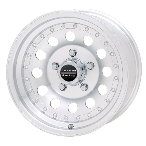 (American Racing Outlaw II AR62 Machined Wheel with Clear Coat (15x7
