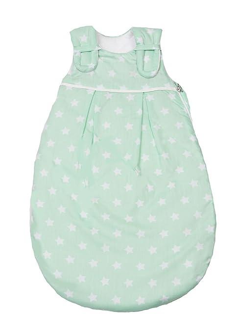 Picos Aerosleep – Saco de dormir para bebé estrellas color verde Talla:62/68