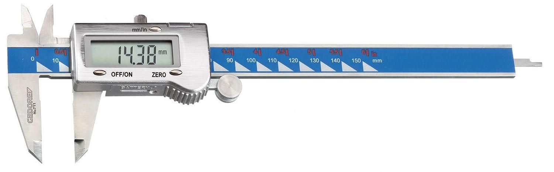 Gedore 711 Digital-Messschieber mm+Zoll in Hartbox
