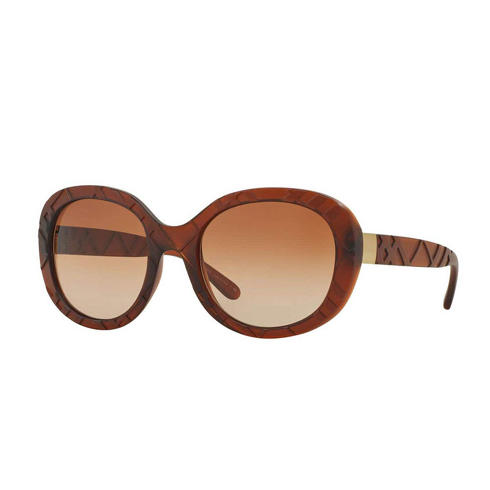 Burberry EXPLODED CHECK BE 4218 MATTE BROWN BROWN SHADED women Sunglasses