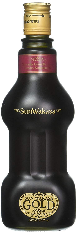 Sun Chlorella- Sun Wakasa Gold with Chlorella Growth Factor- Support Your Health On A Cellular Level (17 Fluid Ounce) by Sun Chlorella (Image #1)