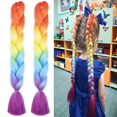 Fishtail Ponytail Kanekalon Extension Synthetic product image