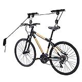 Comfecto Rack Lift Bike Hooks Garage Heavy Duty 50