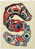 Alaska Smokehouse Smoked Sockeye Salmon Fillet In Wood, 4 Ounce Gift Box