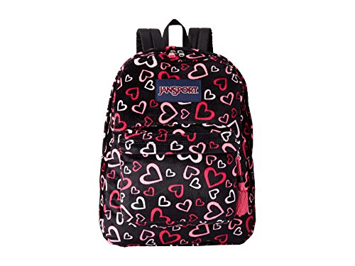 JanSport High Stakes, Pink Tulip Lots of Love, One Size from JanSport