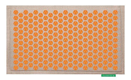 Pranamat ECO Therapeutic Manual Massage Mat (Natural Orange)