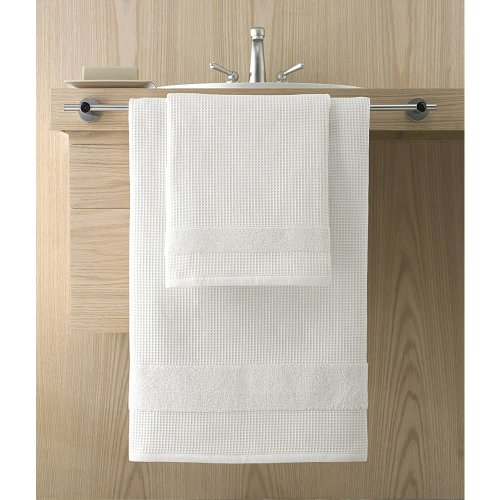 Kassatex Hotel Collection Towels, Bath Towel - (Square Waffle Robe)