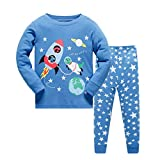 Tkala Fashion Boys Pajamas Children Clothes Set 100% Cotton Little Kids Pjs Sleepwear (3T, Pajamas4)