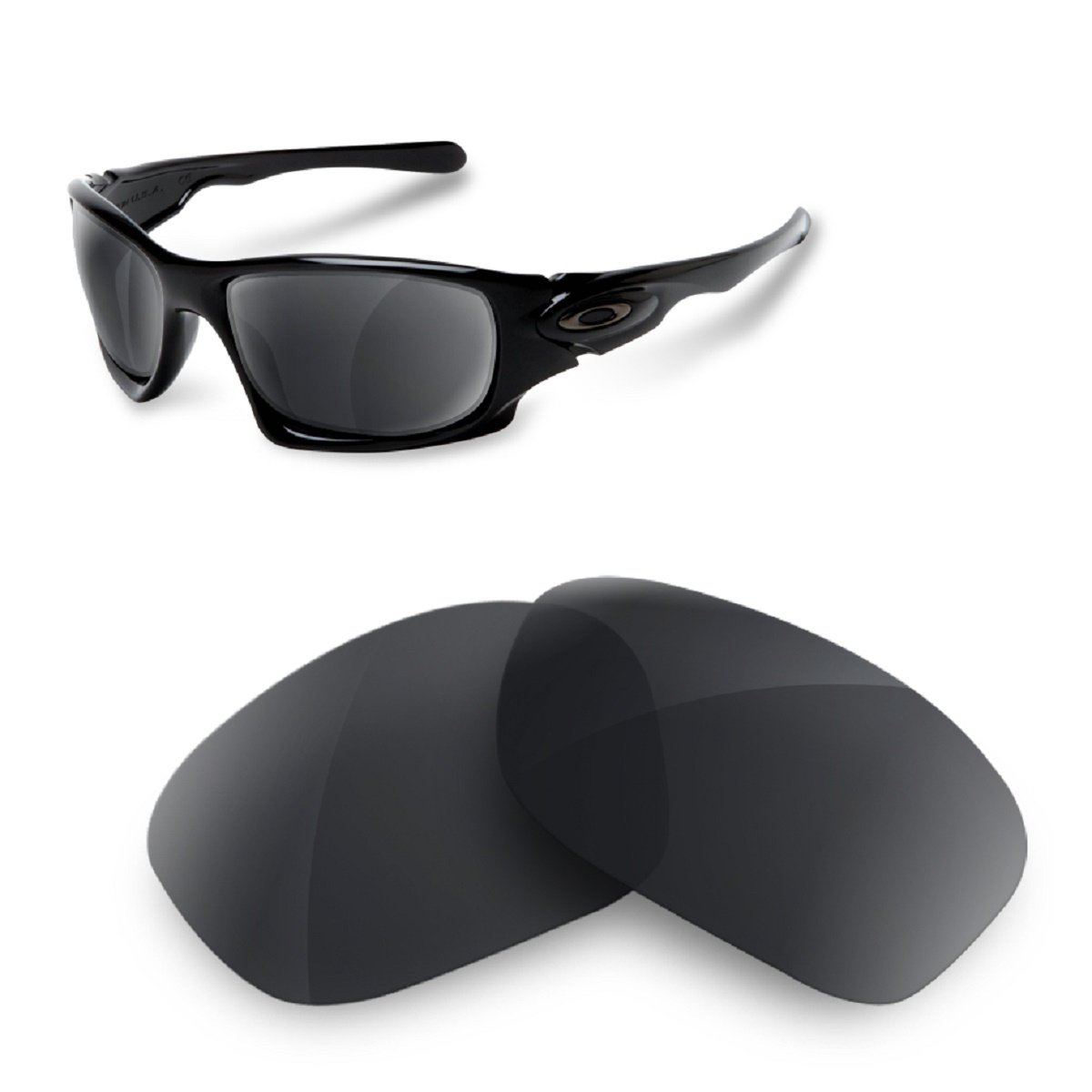 Sunglasses Restorer Ersatzgläser für Oakley Ten X (Polarisierte Black  Iridium Linsen): Amazon.de: Sport & Freizeit