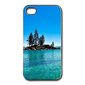 Geek Lake Tahoe California IPhone 4 4S Case Skin - Custom Non-Slip IPhone 4 4S Case For Her