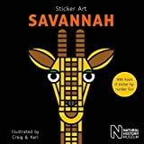 Sticker Art Savannah