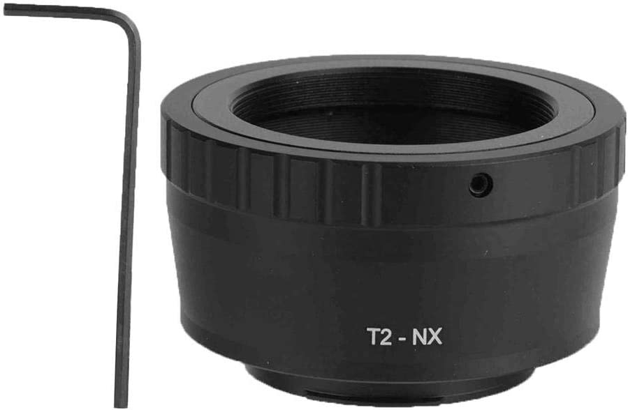 Qiterr T2-NX Telescope Lens for Mirrorless Camera NX Adapter Ring M42X0.75 Telescope Return Lens to Micro Single Nx Body Adapter