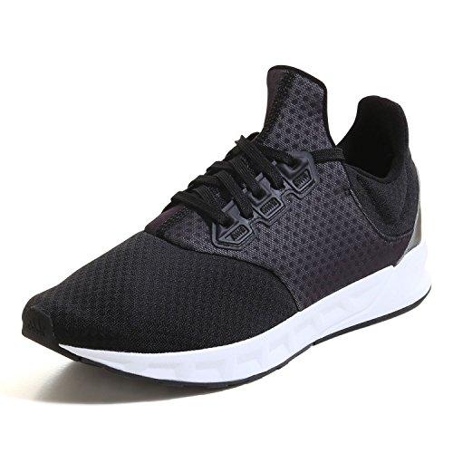 adidas Falcon Elite 5 M, Zapatillas de Running para Hombre Negro (Negbas / Plamet / Ftwbla)
