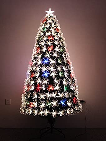 LED FIBER OPTIC CHRISTMAS TREE (6ft) - Amazon.com: LED FIBER OPTIC CHRISTMAS TREE (6ft): Home & Kitchen