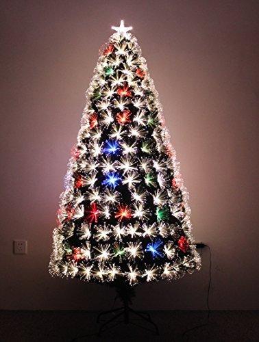 LED FIBER OPTIC CHRISTMAS TREE (6ft)