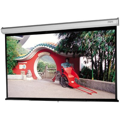 Model C with CSR Matte White Manual Projection Screen Viewing Area: 57.5