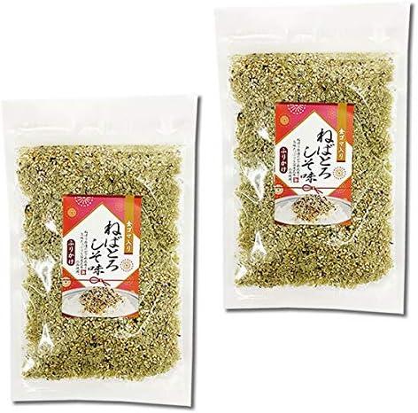 山根食品 ねばとろふりかけ しそ味 35g×2袋お試しセット 国産昆布使用