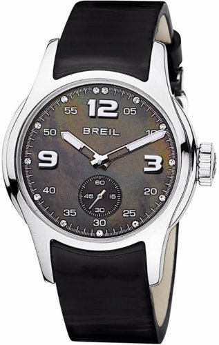 Breil Globe Leather Strap Ladies Fashion Watch BW0216