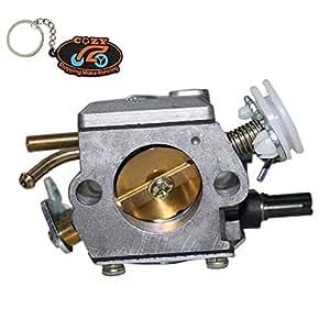 ZY Carb Carburador para Motosierra Husqvarna 362365371372
