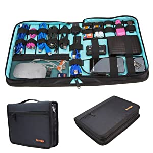 butterfox universal electronics accessories travel organizer hard drive case. Black Bedroom Furniture Sets. Home Design Ideas