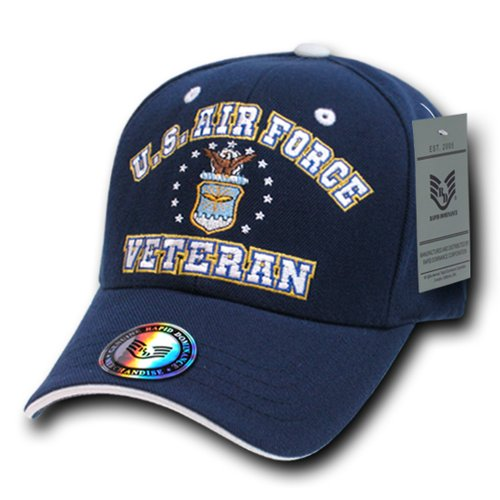 Rapiddominance Air Force Veterans' Cap, Navy