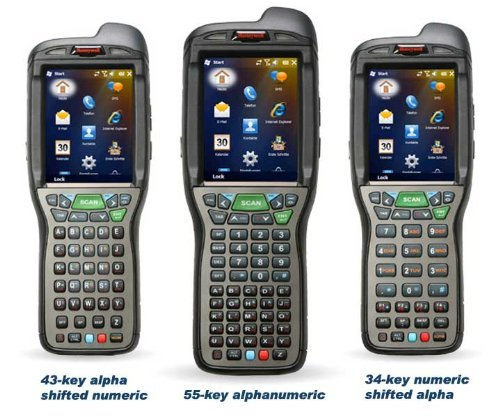 Honeywell Dolphin 99EX Wireless Mobile Computer (802.11a-b-g-n, Bluetooth, 55-Key, CAM, STD Range, WEH 6.5, STD Battery