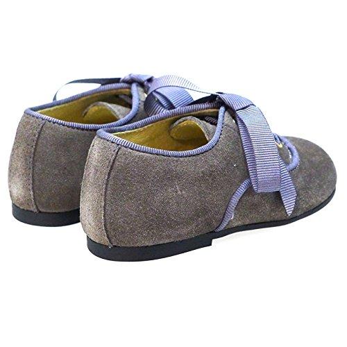 Zapatos Primeros Pasos Vestir Ceremonia Clarys 0799 Gris GRIS