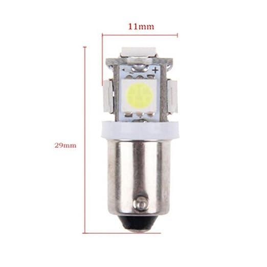 Amazon.com: alonea 10 pcs luz blanca super brillante 12 V ...