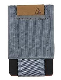 BASICS Men's Slim Wallet - Gray