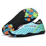 Leyang Men Women Water Shoes Quick-Dry Aqua Socks Swim Shoes for Pool Surf Yoga River Water Aerobics